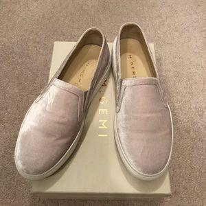 M. Gemi Cerchio Velvet Women's Slip-on Sneakers